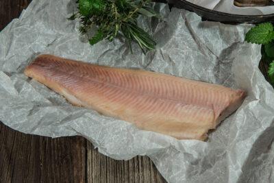 Bio Lachsforellen Filet heiß geräuchert