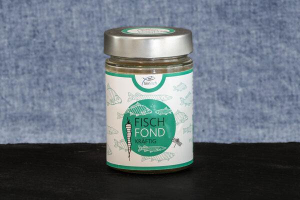 Bio Fischfond kräftig für die Suppe